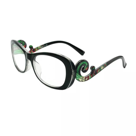 942e8a2604b Women s Reading Glasses Black Floral